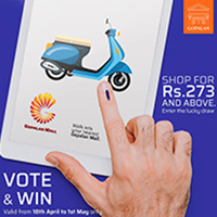Gopalan Malls Vote & Win Lucky Draw